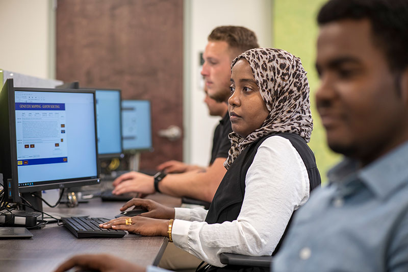 center for analytics students