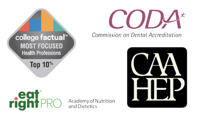 health sciences accreditation logos