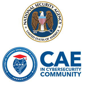 National Security Agency and CAE logo