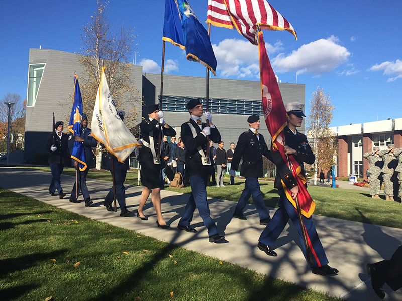 Thumbnail photo for University of New Haven's Veterans Day 2016