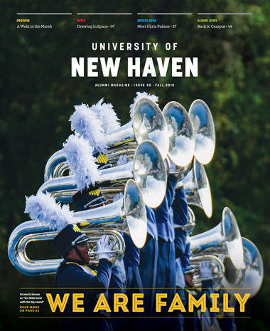 Image of Alumni Magazine Fall 2018 issue cover