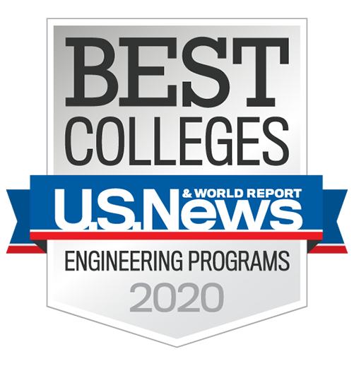 U.S. News & World Report Top Engineering badge