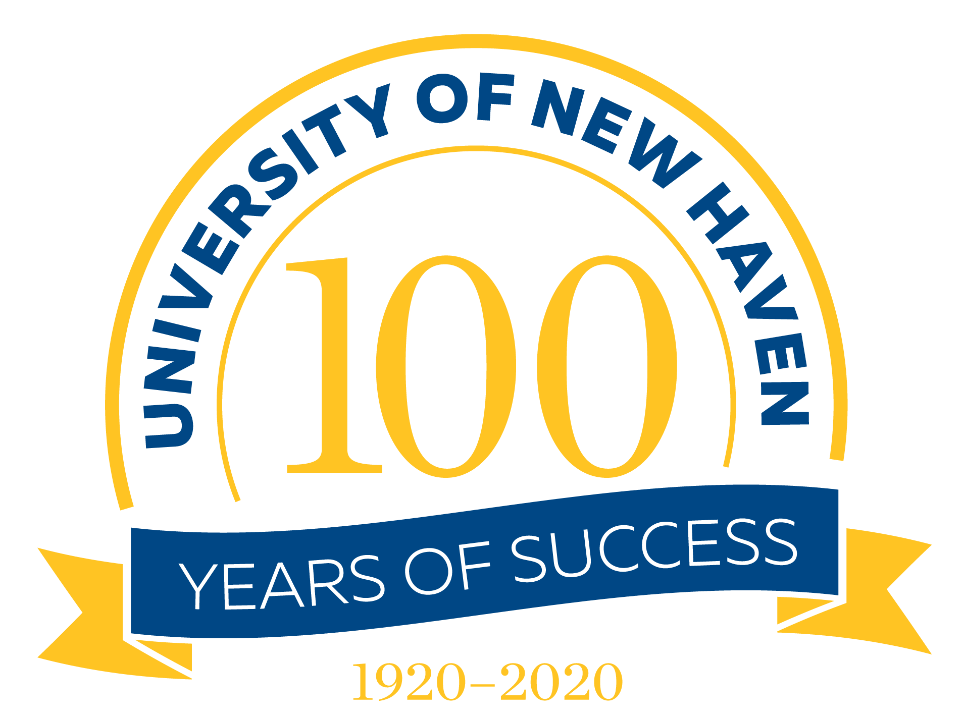 University of New Haven Centennial logo