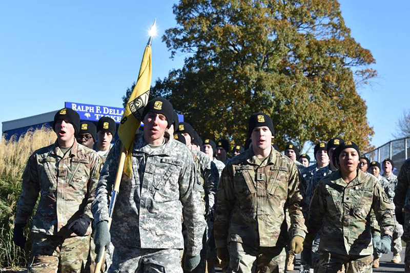 army rotc university of new haven