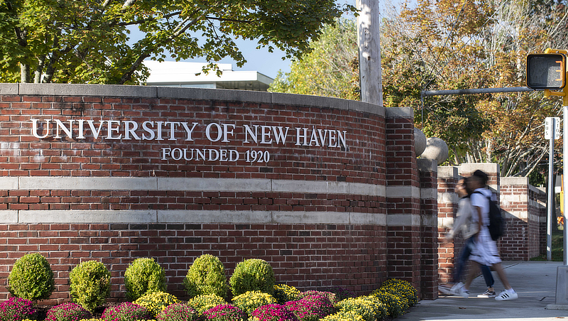 Photo of University of New Haven entrance gate