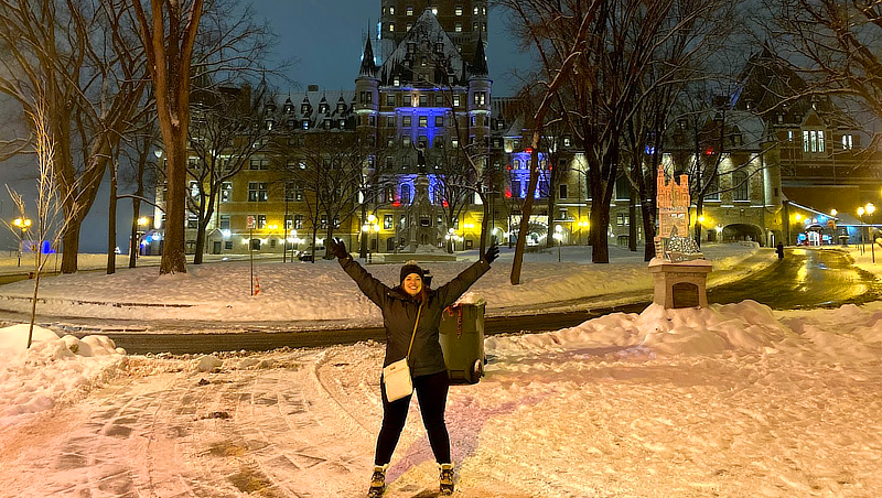 Danielle Coady in Quebec City