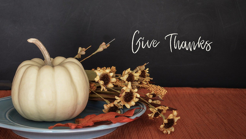 Thanksgiving gourds
