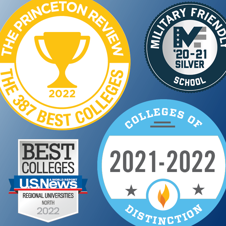 The University of New Haven is nationally recognized with many awards.