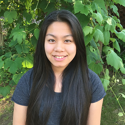 An image of Shirley Duong, an alumnus of one of the best psychology colleges in connecticut.