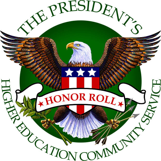 The President's Higher Education Community Service Honor Roll logo
