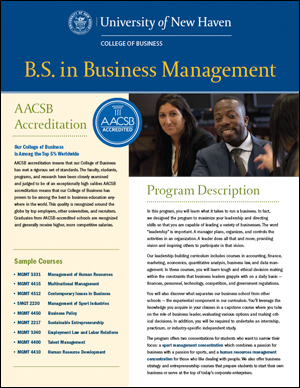 B.S. in Business Management PDF cover
