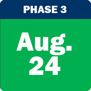 Phase 3 graphic