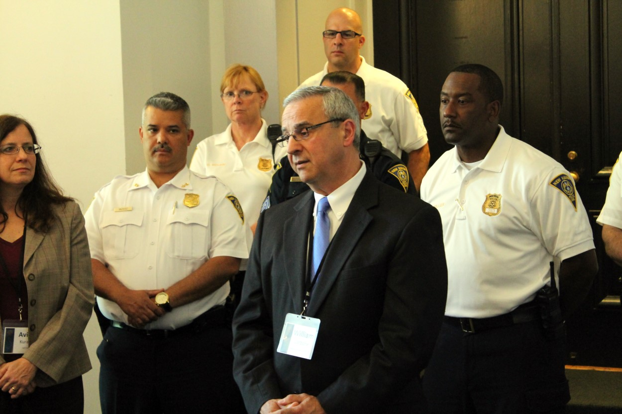 Bill Carbone at Juvenile Justice Reform Training for Police Executives