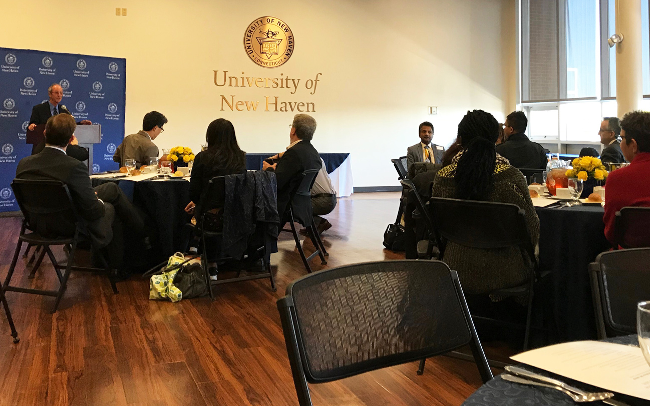 Foreign Journalists Tour University of New Haven