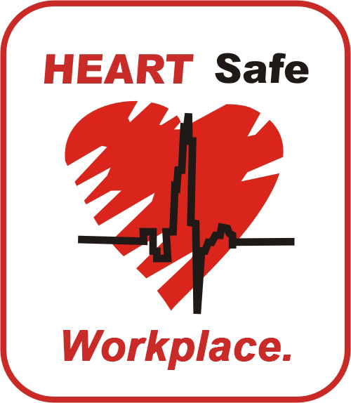 HeartSafe Workplace logo