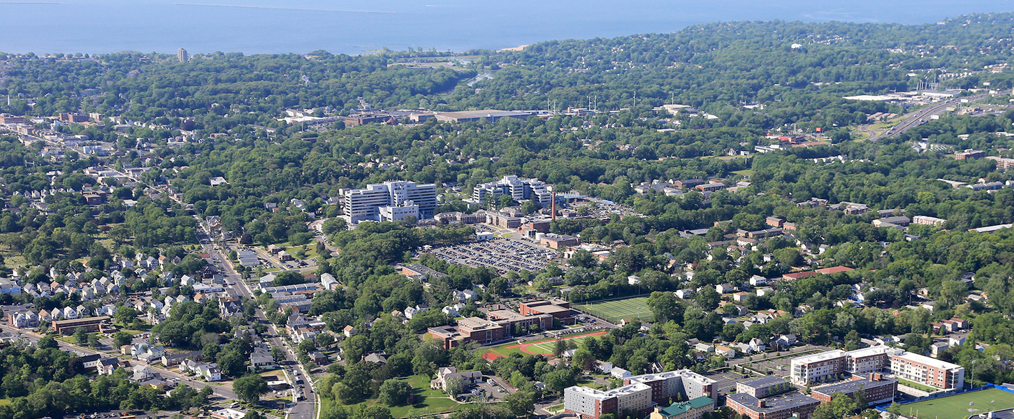 Aerial view of West Haven