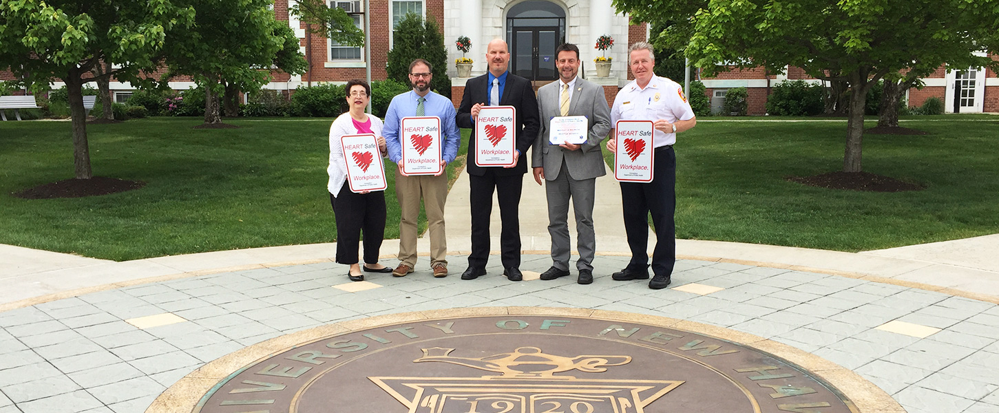 University of New Haven First College in State to be Designated HeartSafe