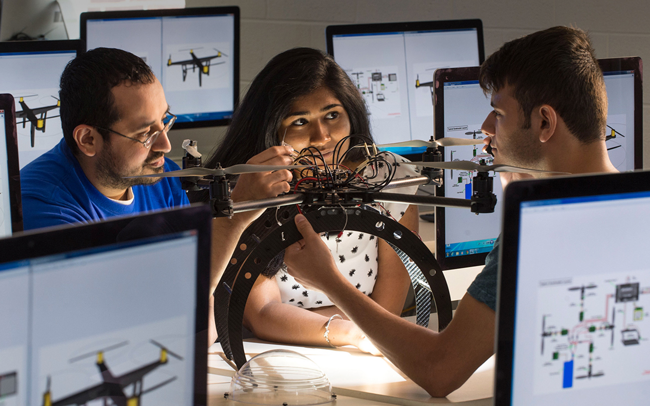 The Tagliatela College of Engineering is ranked among the top 100 best engineering programs in the nation.