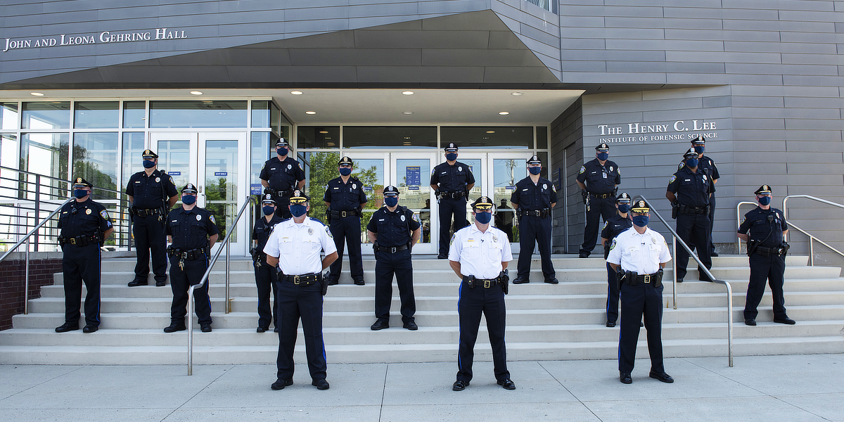 Photo of campus police